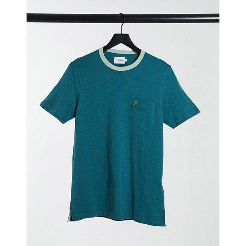 Farah - Groves - T-shirt - Vert - Farah - Modalova