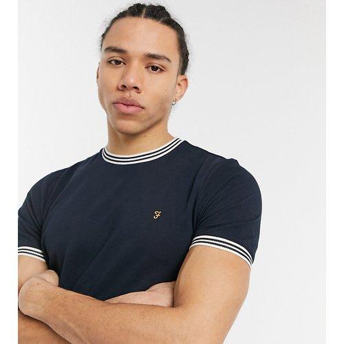 Tall - Texas - T-shirt en coton biologique - Noir - Farah - Modalova