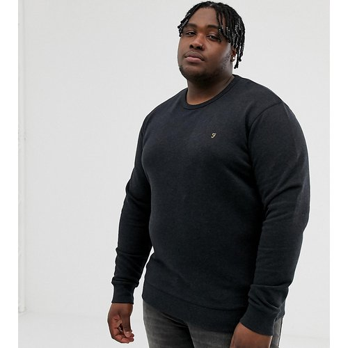 Tim - Sweat-shirt chiné ras de cou - Farah - Modalova