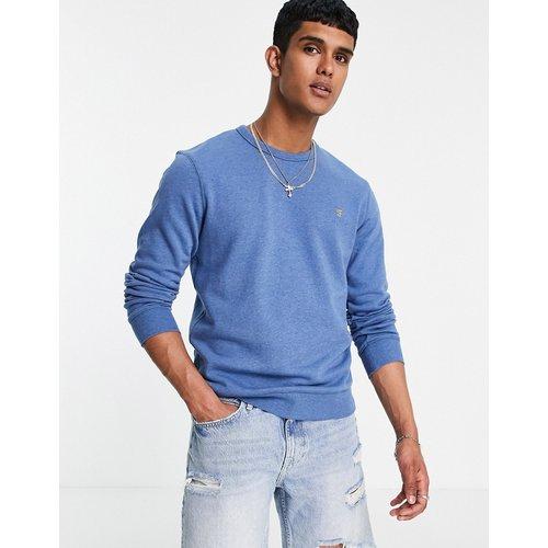 Tim - Sweat-shirt ras de cou en coton biologique - Farah - Modalova