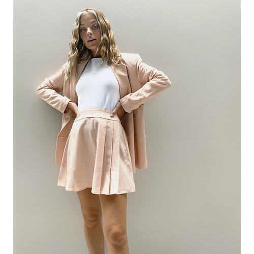 Jupe d'ensemble plissée - Fashion Union Petite - Modalova
