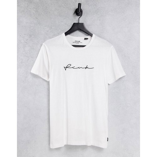 FCUK - T-shirt à inscription - French Connection - Modalova