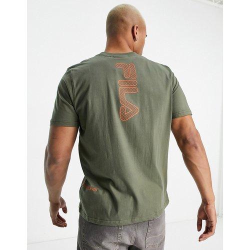 Deckhand - T-shirt avec logo imprimé au dos - olive - Fila - Modalova