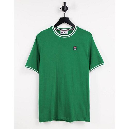 Euro - T-shirt à bordures contrastantes et logo - Fila - Modalova