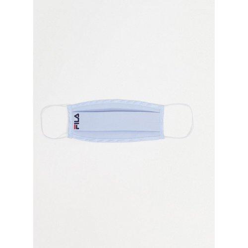 Masque en tissu à petit logo - Bleu ciel - Fila - Modalova