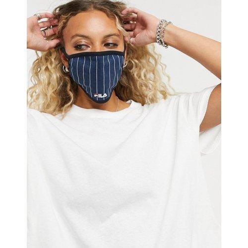 Masque en tissu - Rayures bleu marine - Fila - Modalova