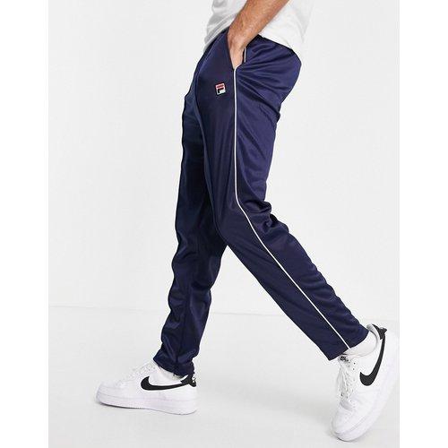 Terry - Pantalon de jogging avec imprimé logo encadré - Bleu - Fila - Modalova
