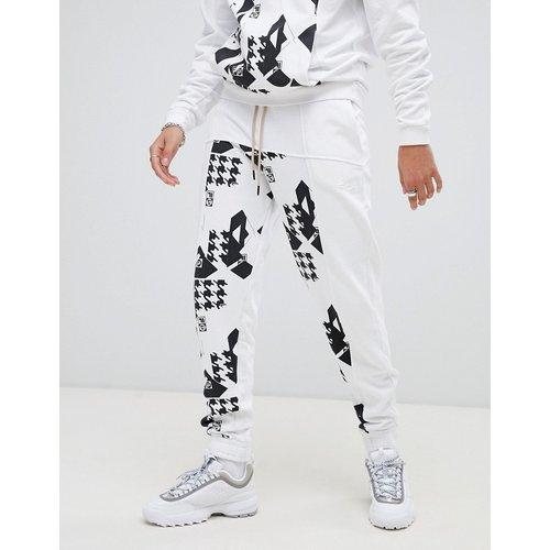 X Liam Hodges - Pantalon de jogging à empiècement imprimé - Fila - Modalova