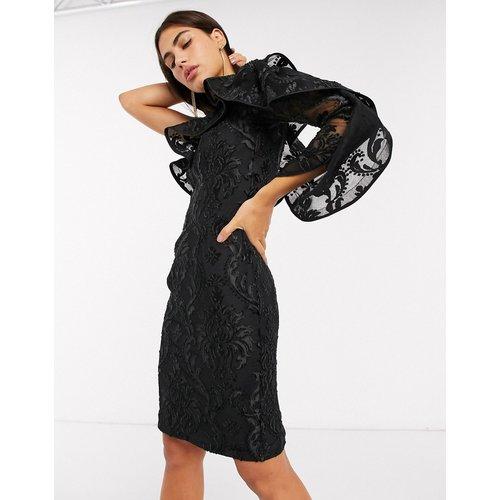 Robe asymétrique à manche bouffante - Forever Unique - Modalova