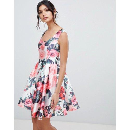 Robe de bal de promo courte à fleurs - Forever Unique - Modalova