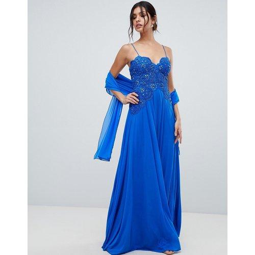 Forever Unique - Robe longue-Bleu - Forever Unique - Modalova