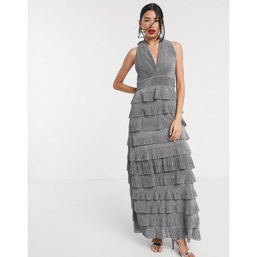 Robe longue à franges effet étagé - é - Forever Unique - Modalova