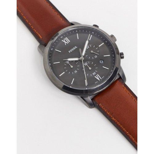FS5512 Neutra - Montre chronographe en cuir - Fossil - Modalova
