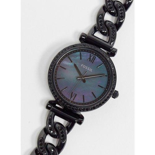 Montre à bracelet façon chaîne - Fossil - Modalova