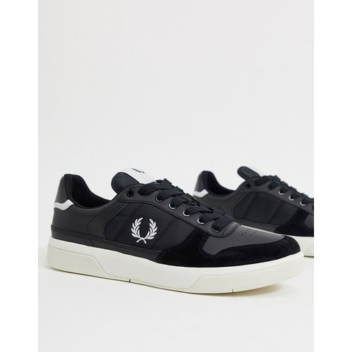 Fred Perry - B300 - Baskets - Noir - Fred Perry - Modalova