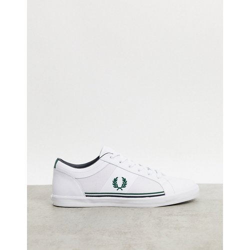 Baseline - Baskets en cuir avec empiècement - Fred Perry - Modalova