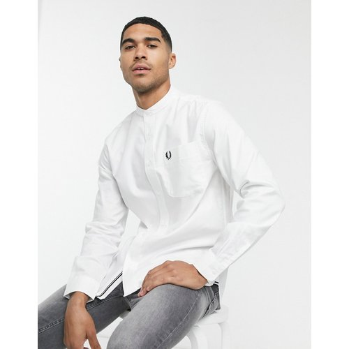 Chemise Oxford à col grand-père - Fred Perry - Modalova