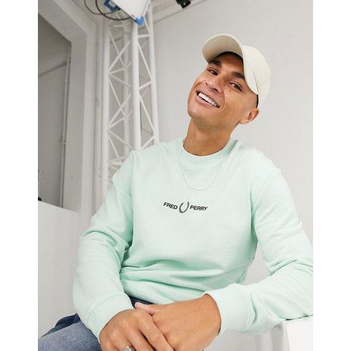 Sweat-shirt ras de cou à logo brodé - pastel - Fred Perry - Modalova