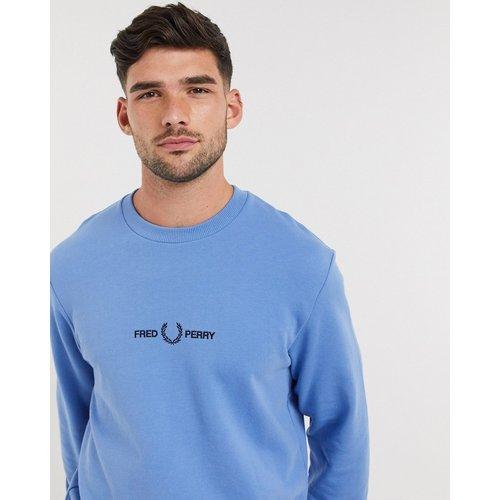 Sweat-shirt ras de cou avec logo brodé - Fred Perry - Modalova
