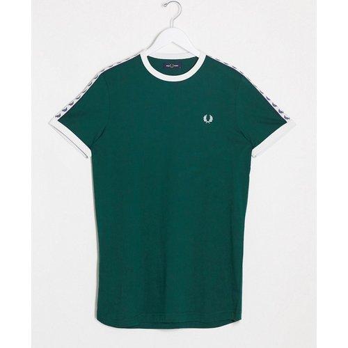 T-shirt à bordure contrastante avec bande - Fred Perry - Modalova