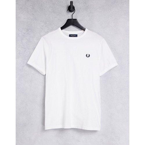 T-shirt à bordures contrastantes - Fred Perry - Modalova