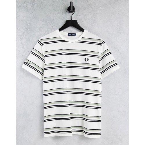 T-shirt à double rayures - Fred Perry - Modalova