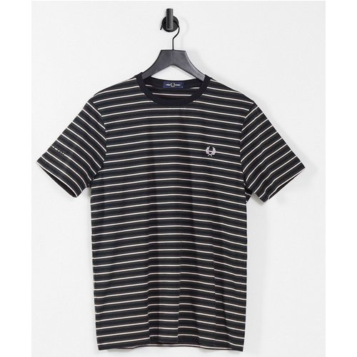 T-shirt à rayures fines - Fred Perry - Modalova