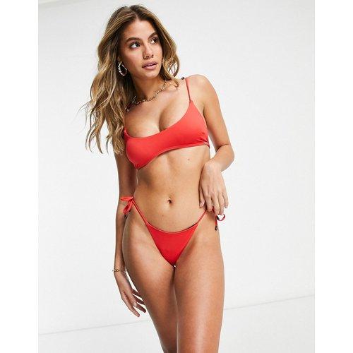 Bas de bikini échancré noué sur les côtés - Free Society - Modalova