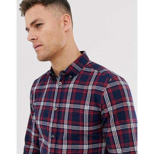 Chemise à carreaux en coton - French Connection - Modalova