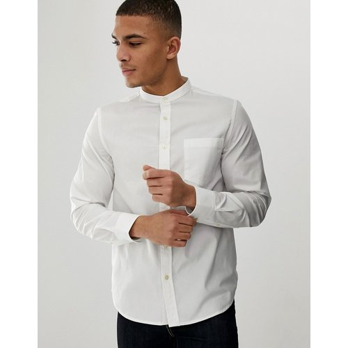 Chemise unie à col grand-père - French Connection - Modalova