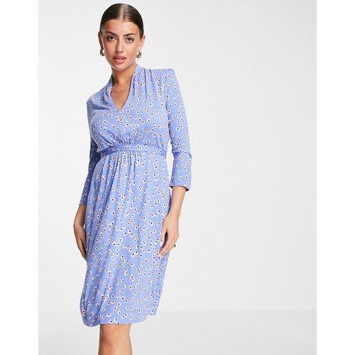 Eloise - Robe imprimée en jersey avec lien à nouer à la taille - French Connection - Modalova