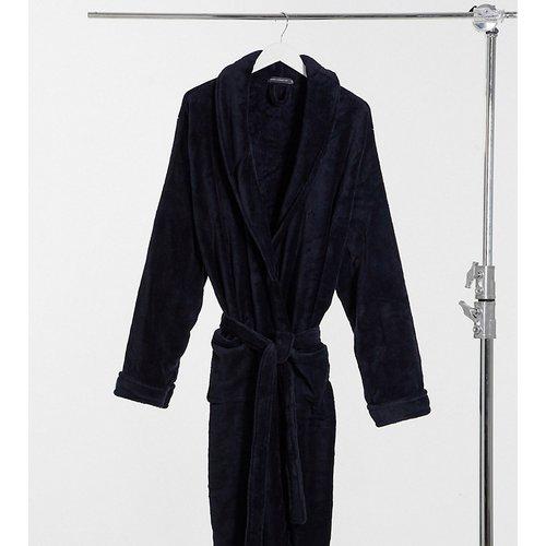 Plus - Robe de chambre en polaire - Bleu marine - French Connection - Modalova