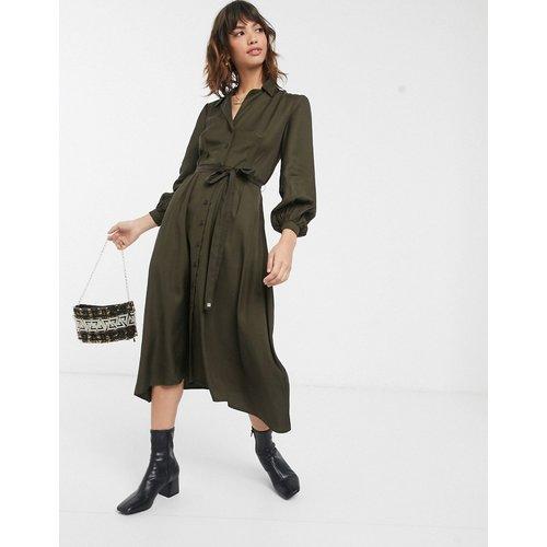 Robe chemise mi-longue fonctionnelle - French Connection - Modalova