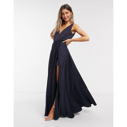 Robe longue drapée - French Connection - Modalova