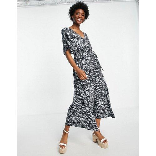 Robe mi-longue imprimée - French Connection - Modalova