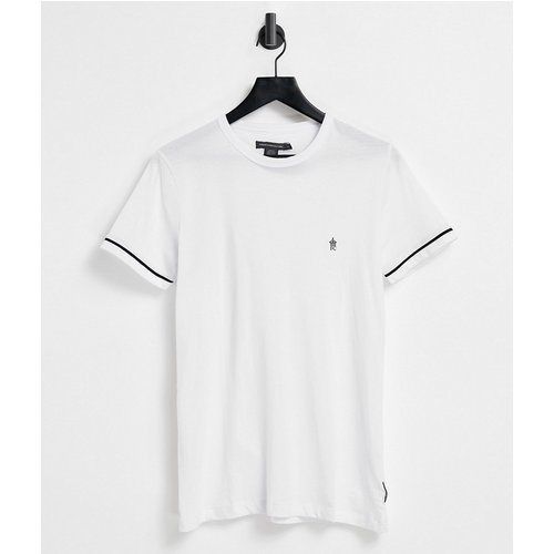 T-shirt avec liserés aux manches - French Connection - Modalova