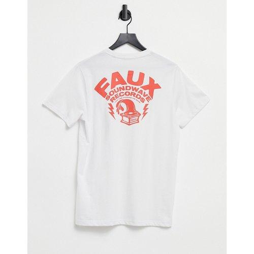 T-shirt à imprimé «Records» - Friend or Faux - Modalova