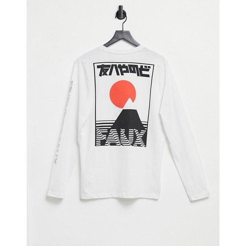 T-shirt à manches longues imprimé Japon - Friend or Faux - Modalova