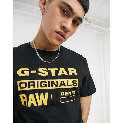 Originals - T-shirt à logo en coton bio - G-Star - Modalova