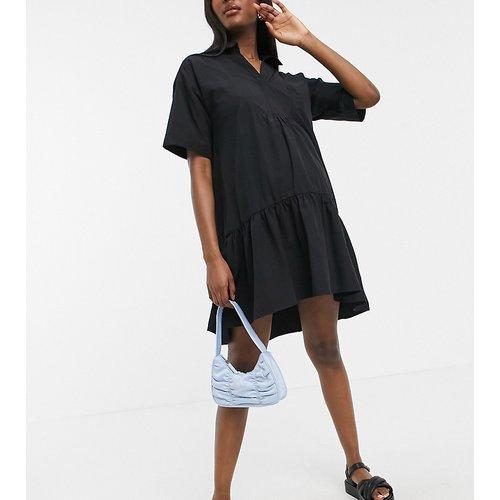 Robe chemise mi-longue à smocks - Gebe Maternity - Modalova