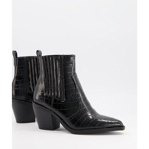 Bottines style western - croco - Glamorous - Modalova