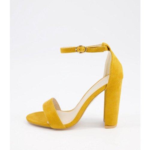 Chaussures à talon minimalistes - Moutarde - Glamorous - Modalova