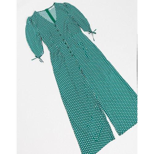 Combinaison large à pois - Vert multicolore - Glamorous - Modalova