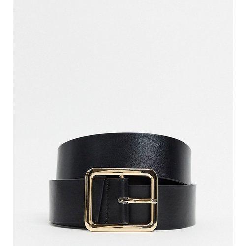 - Ceinture taille et hanches pour jean avec boucle carrée dorée, en exclusivité - Glamorous Curve - Modalova