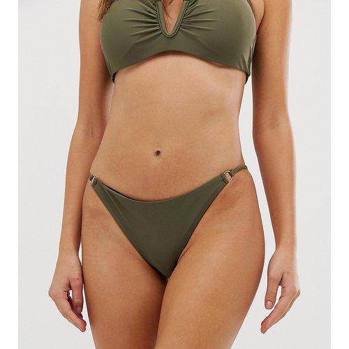 Exclusivité - Bas de bikini échancré - Kaki - Glamorous - Modalova