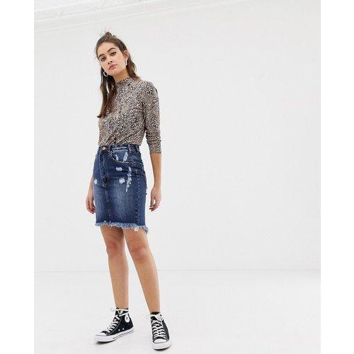 Glamorous - Jupe en jean-Bleu - Glamorous - Modalova