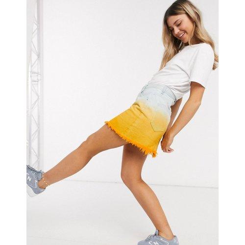 Jupe en jean effet dip-dye - Glamorous - Modalova