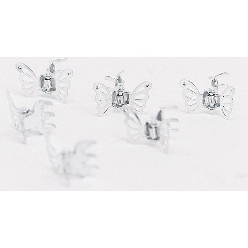 Lot de 6 barrettes papillon - Glamorous - Modalova