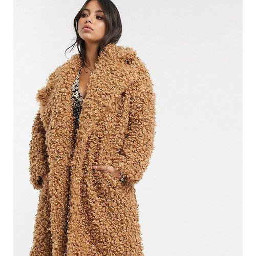 Manteau long duveteux - Glamorous Petite - Modalova
