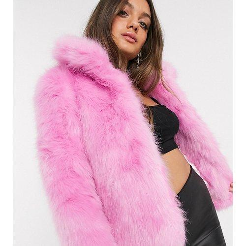 Veste en fausse fourrure - Glamorous Petite - Modalova
